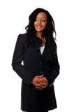非洲裔美国人的女实业家 库存照片
