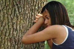 非洲裔美国人的女性 免版税库存图片