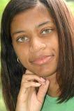 非洲裔美国人的女性 库存照片
