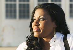 非洲裔美国人的妇女 免版税图库摄影