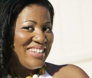 非洲裔美国人的妇女 免版税库存图片