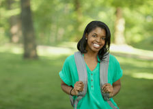 非洲裔美国人的学员 库存照片
