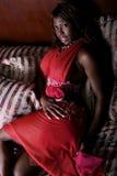 非洲裔美国人的性感的妇女 库存照片