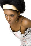 非洲裔美国人的时装模特儿 免版税库存图片