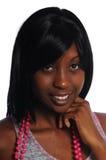 非洲裔美国人的有吸引力的妇女年轻&# 免版税库存图片