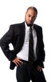 非洲裔美国人的生意人 免版税库存图片