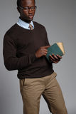 非洲裔美国人的男性年轻人 库存照片