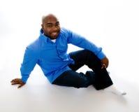 非洲裔美国人的男 免版税图库摄影