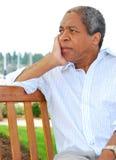 非洲裔美国人的男 免版税库存图片