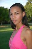 非洲裔美国人的秀丽 免版税库存照片
