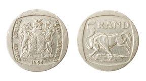 非洲货币兰特 免版税库存照片