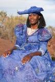 非洲赫勒娄族 免版税图库摄影