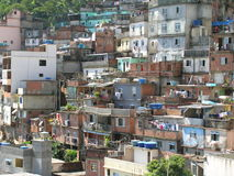 非洲邻里 免版税库存照片