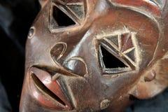 非洲部族屏蔽-卢巴人部落 免版税库存图片