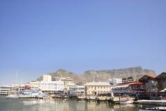 非洲阿尔伯特海角南城镇维多利亚waterfr 免版税库存图片