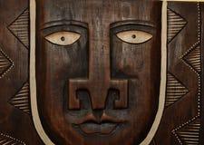 非洲雕塑 免版税库存照片