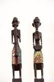 非洲雕塑 库存图片
