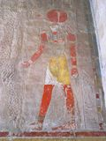非洲bahari deir埃及el hatshepsout寺庙thebes 免版税库存照片