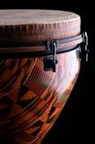 非洲bk黑色djembe鼓 库存图片