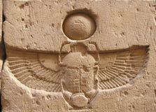 非洲edfu埃及寺庙 图库摄影