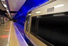 非洲gautrain高铁路运输速度旅行 免版税库存照片