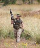 非职业体育竞赛战士战士 库存图片