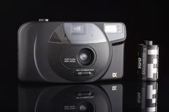 非职业影片摄影概念 免版税库存照片