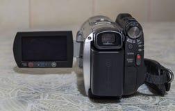 非职业照相机录影 库存照片