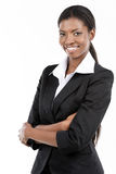 非裔美国人的女实业家 免版税库存图片