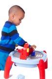 非裔美国人的小男孩 免版税图库摄影