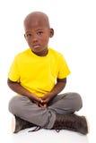 非裔美国人的男孩 库存图片