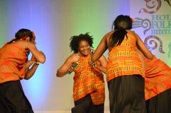 非裔美国人的舞蹈家 库存照片