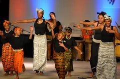 非裔美国人的青年舞蹈家 库存图片