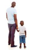 年轻非洲人儿子 免版税图库摄影