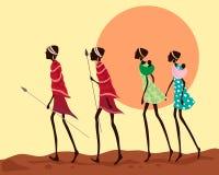 非洲人员 图库摄影