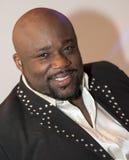 非洲黑人男性画象 免版税图库摄影