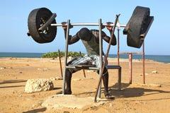 非洲健身 库存照片