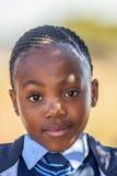 非洲儿童女孩画象 免版税图库摄影