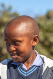 非洲儿童纵向 库存照片