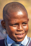 非洲儿童纵向 图库摄影