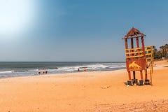 非洲冈比亚-天堂海滩 免版税库存照片