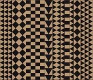 非洲几何装饰品 免版税库存照片
