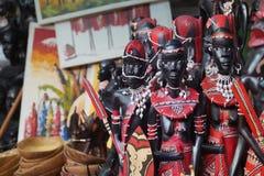 非洲创造性的人工制品 库存照片