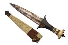非洲匕首 库存照片