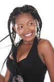 非洲发型 免版税库存照片