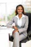 非洲商业主管 免版税库存照片
