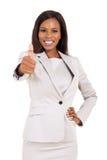 非洲商业主管 免版税库存图片