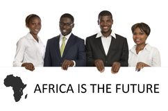 非洲商人 免版税库存照片