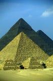 非洲埃及开罗吉萨棉金字塔 图库摄影