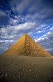 非洲埃及开罗吉萨棉金字塔 免版税图库摄影